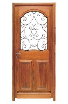 porte mod le domus i porte vitr e avec grille en fer sur ch ssis ouvrant de l int rieur tous. Black Bedroom Furniture Sets. Home Design Ideas