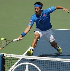 Blog Esportivo do Suíço:  Em dia inconsistente Nishikori vence a primeira no US Open