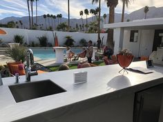 Corian® Solid Surface-Gray Onyx Corian Colors, Corian Solid Surface, Modernism Week, Traditional, Contemporary, Gray, Kitchen, Design, Kitchens