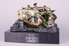 40k - Dark Angels Deathwing Land Raider by Jack Hunter