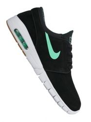 Nike SB Stefan Janoski Max L black/green glow - white - gum light brown