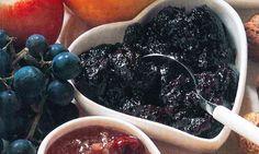 de kleine blauwe druiven geven een zeer aromatische confituur
