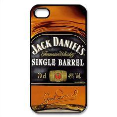 Jack Daniels Singgle Barrel - Black iphone 4/4S