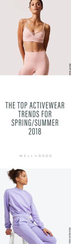 Spring 2018 Activewear Trends