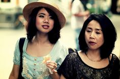 Mother & Daughter in Chinatown, Singapore