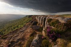 Curbar Bell Heather - Curbar Edge, Peak District, UK  © 2014 Paul Newcombe