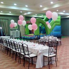 Gracias por elegirnos para celebrar momentos tan especiales como estos. #pando #pandorestaurantes #restaurantes #restaurants #restaurantesevilla #sevilla #sevillacentro #globos #deco #pink #niños