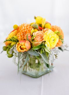 Love everything about this one!!  Great blend of orange and yellow.