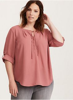 Exteren Womens Plus Size Printed Tops Flare Sleeve Tops Blouses Keyhole T-Shirts Tunics