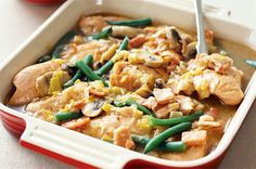 A hearty casserole is just what you need to warm up on a cold Tuesday night and this one's a real winner!