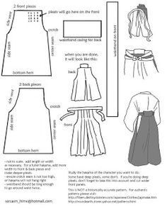 Hakama Pattern