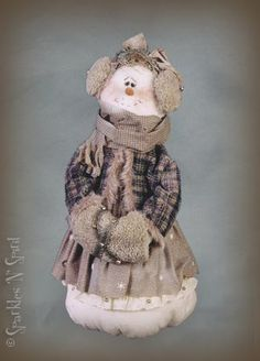 Doll Patterns, easy to make, simple sewing. Includes: Cloth Doll Patterns, Supplies and Finished Dolls for sale.