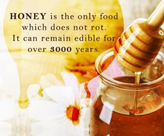 HONEY - a super food with almost magical benefits