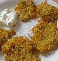 Rezept für einfache und köstliche Kürbis-Kartoffel-Laibchen nach TCM: in 10 Minuten zubereitet! Shrimp, Grains, Lunch, Meat, Recipes, Food, Potato, Few Ingredients, Healthy Food