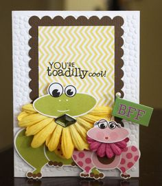 Card: Youre Toadilly Cool