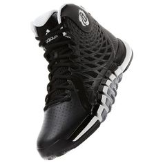 f3befec0f517 Adidas Rose 773 II Mens Basketball Shoe 11 Black-White-Grey. NON MARKING