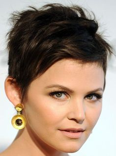 Ginnifer Goodwin Pixie - Short Hairstyles Lookbook - StyleBistro | Short and whispy Pixy. GREAT for a 27PC style!
