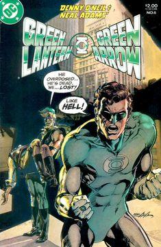 Green Lantern Green Arrow  by Neal Adams  (900×1376)