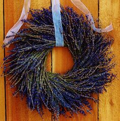 Summer Lavender Wreath
