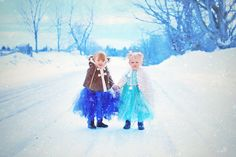Frozen inspired children's photography session.  Joy of Life Photography