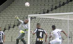 Botafogo não passa do empate sem gols com o Ceará. http://glo.bo/1KRacm8