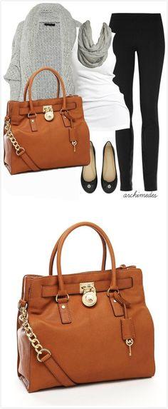 MK Hamilton bag loving my new purse