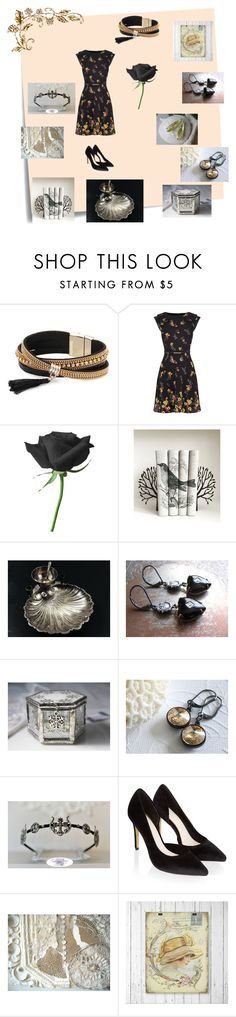 """""""An Afternoon Soiree with the Believe Team"""" by ruegenevieve ❤ liked on Polyvore featuring Post-It, Simons, Anello and Monsoon"""