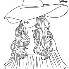App to make photos into coloring pages ~ Pretty lady with fan to color on ColorTherapy App ...