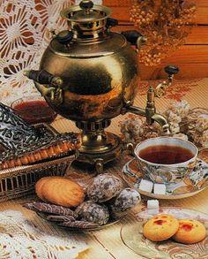 (via Old Samovar). Time for tea in Russia.