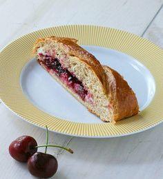 Cherry Cream Cheese Braid - FoodBabbles.com