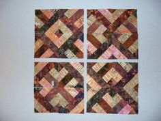 Variations on three dudes jelly roll block from missouri quilt co - Four-Optional-Blocks1.jpg (1024×768)