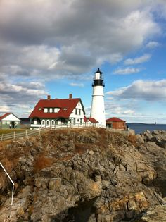 Portland, Maine ~ first time I ever saw an ocean!