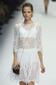 Dolce & Gabbana at Milan Fashion Week Spring 2011 - StyleBistro