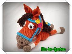 Gigi das Pony - Häkelanleitung PDF