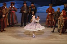 Megan Storm Hill and Artists of the Ballet in The Nutcracker. Photo by Bruce Zinger.