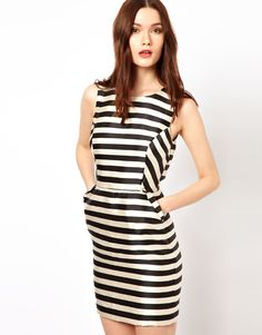 love this striped asos dress