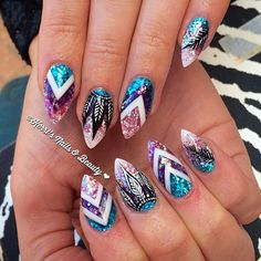 """""""In love with these!! #notpolish another tweeked version of @celinaryden 's set"""""""