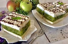 Ciasto Zielone Jabłuszko - Blog z apetytem Baking Tips, Baking Recipes, Cake Recipes, Dessert Recipes, Polish Recipes, Homemade Cakes, Yummy Cakes, Meal Planning, Sweet Tooth