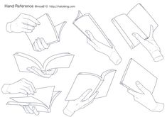 Manga Drawing Tips 手のイラスト資料集 -Hand Reference