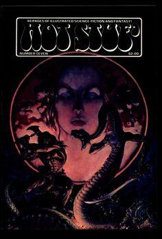 HOT STUF' #7 Michael W. Kaluta Colon maher Boxell Larson Illustrated SF Horror Fantasy Illustration Mature Comics Art*