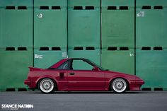 Toyota MR2 x BBS Wheels