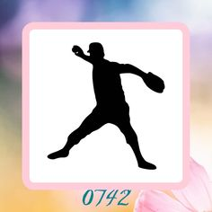 A personal favorite from my Etsy shop https://www.etsy.com/listing/223187941/baseball-player-silhouette-reusable
