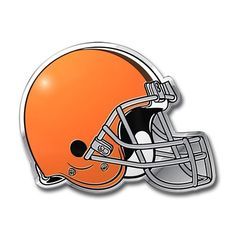 Cleveland Browns Color Auto Emblem Cleveland Browns Football b2e30fbef