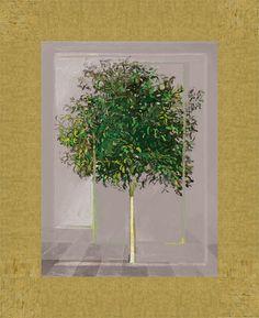 Green orange tree - Bizart Galleries
