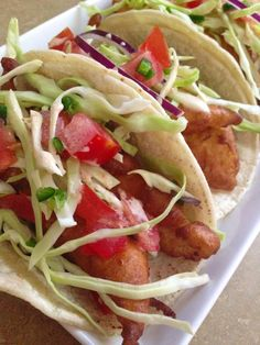 TACOS DE PESCADO ESTILO ENSENADA #tacos #fish #ensenada #glutenfree #singluten