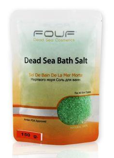 Fouf Dead Sea Doğal Banyo Tuzu - Yeşil 250 gr.