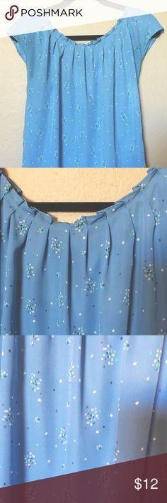 LC Lauren Conrad blouse Beautiful blue light blouse LC Lauren Conrad Tops Blouses