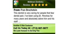 This dentist is very caring for people that fear dental pain.  I've been using Dr....