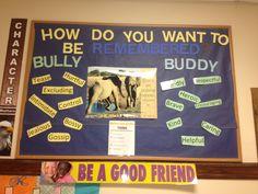 Anti bullying bulletin board