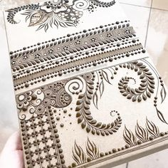 """Lots of you ask me what to practice because you get bored with drills but you don't know how to make a design """"flow"""".... this is my recommendation. Just fill a page. Lines, blocks, florals, vines and leaves - anything! Just fill the page!! My other advice? Be slow, purposeful and make each line and dot count. If you practice with intention your work WILL get better I promise. Feel free to copy this doodle page if you need some inspiration! #henna #mehndi #henne #7enna #7ena #7ennah #mehandi…"""